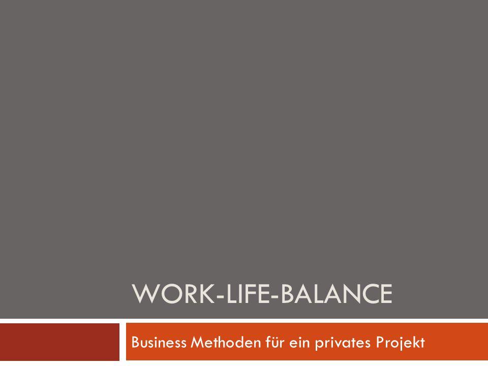 Voraussetzung für ein gut funktionierendes Privat- und Berufsleben ist eine persönlich optimierte Work-Life-Balance.