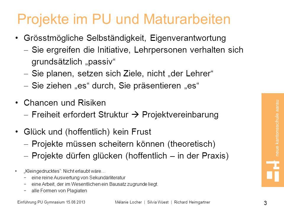 Allgemein gültige Bewertungskriterien Im Anhang A3 des PU-Lehrmittels 2013 (S.