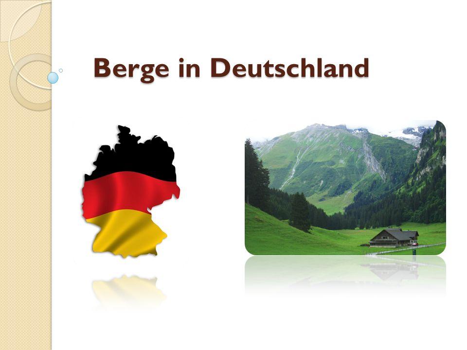 Berge in Deutschland