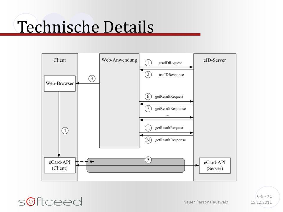 Technische Details Neuer Personalausweis Seite 34 15.12.2011