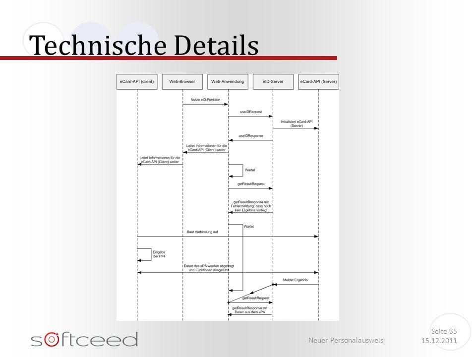 Technische Details Neuer Personalausweis Seite 35 15.12.2011