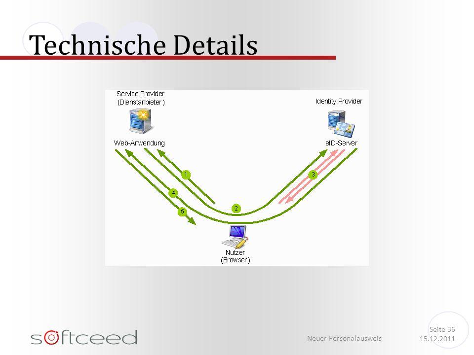Technische Details Neuer Personalausweis Seite 36 15.12.2011