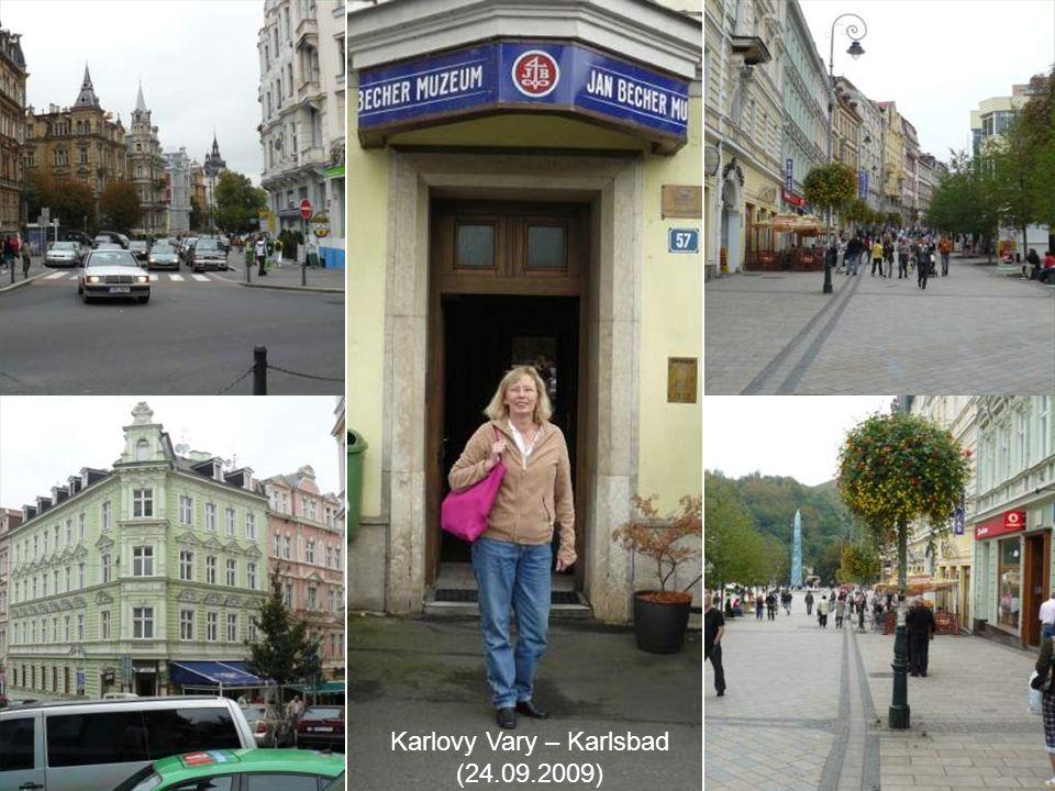 Karlovy Vary – Karlsbad (24.09.2009)