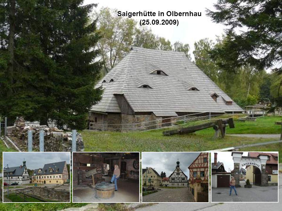 Saigerhütte in Olbernhau (25.09.2009)