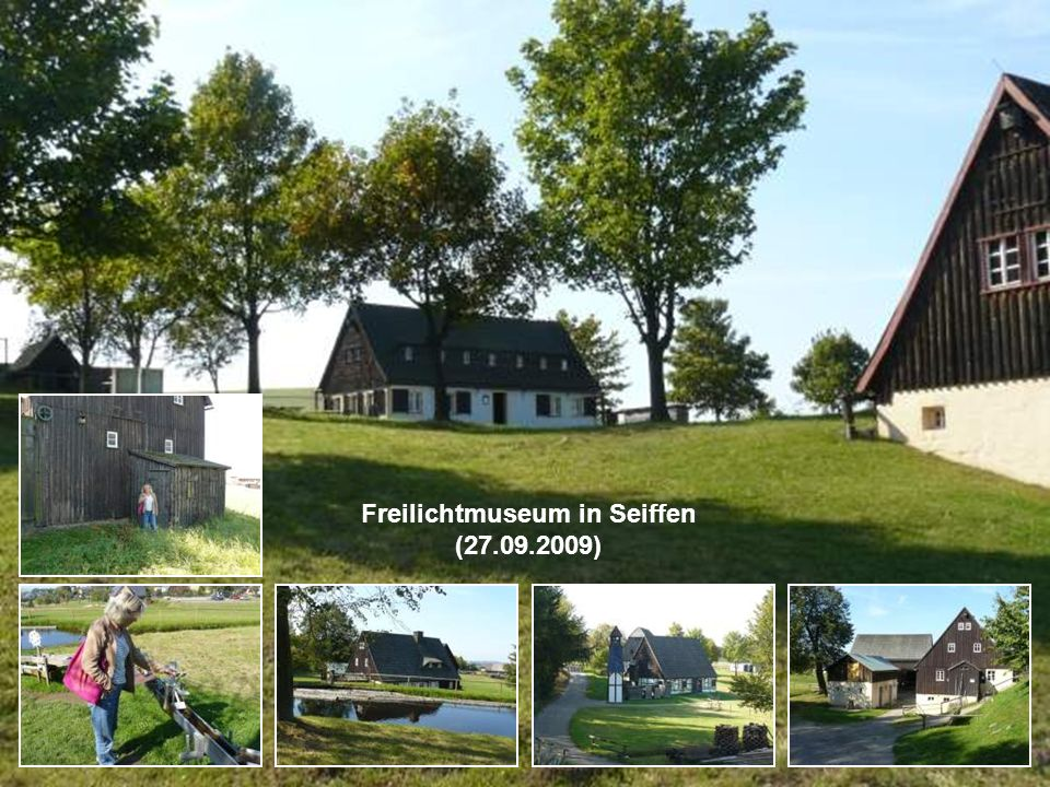 Freilichtmuseum in Seiffen (27.09.2009)