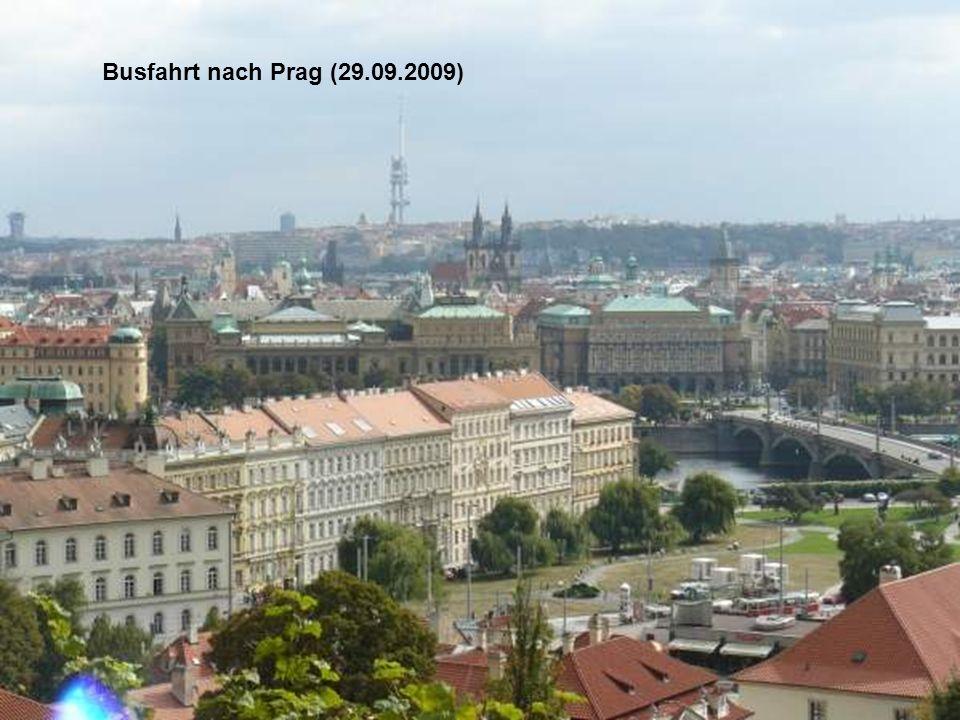 Busfahrt nach Prag (29.09.2009)