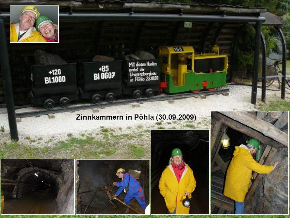 Zinnkammern in Pöhla (30.09.2009)