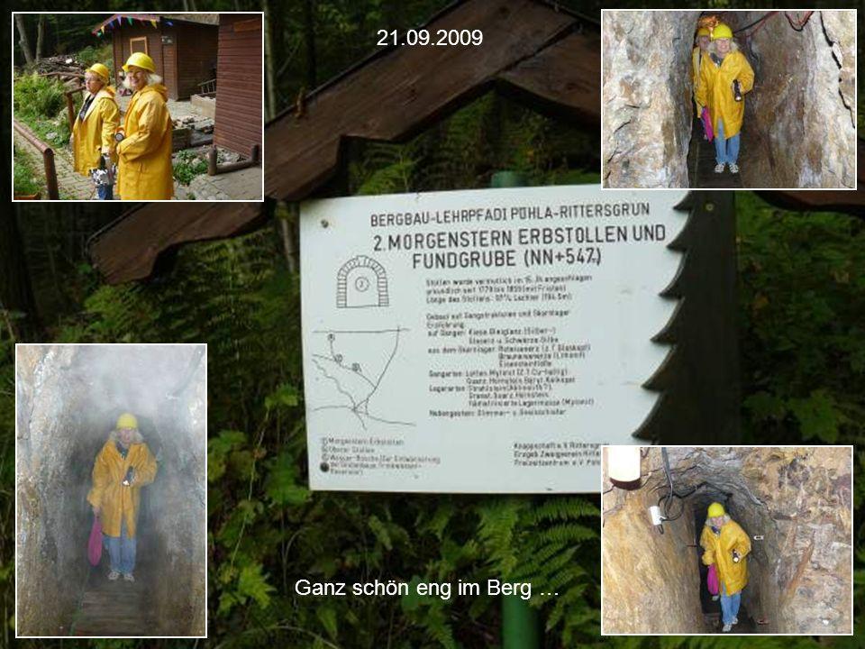 Erzgebirgs-Park in Waschleithe am 21.09.2009