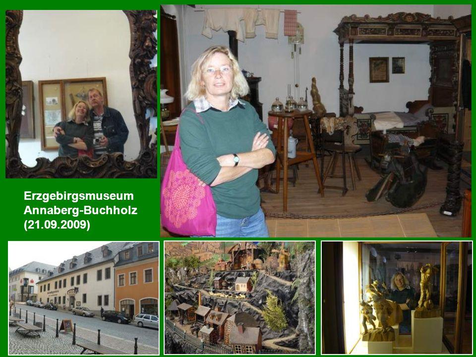 Ausflug nach Wiesenbad ins Tropenhaus (22.09.2009)
