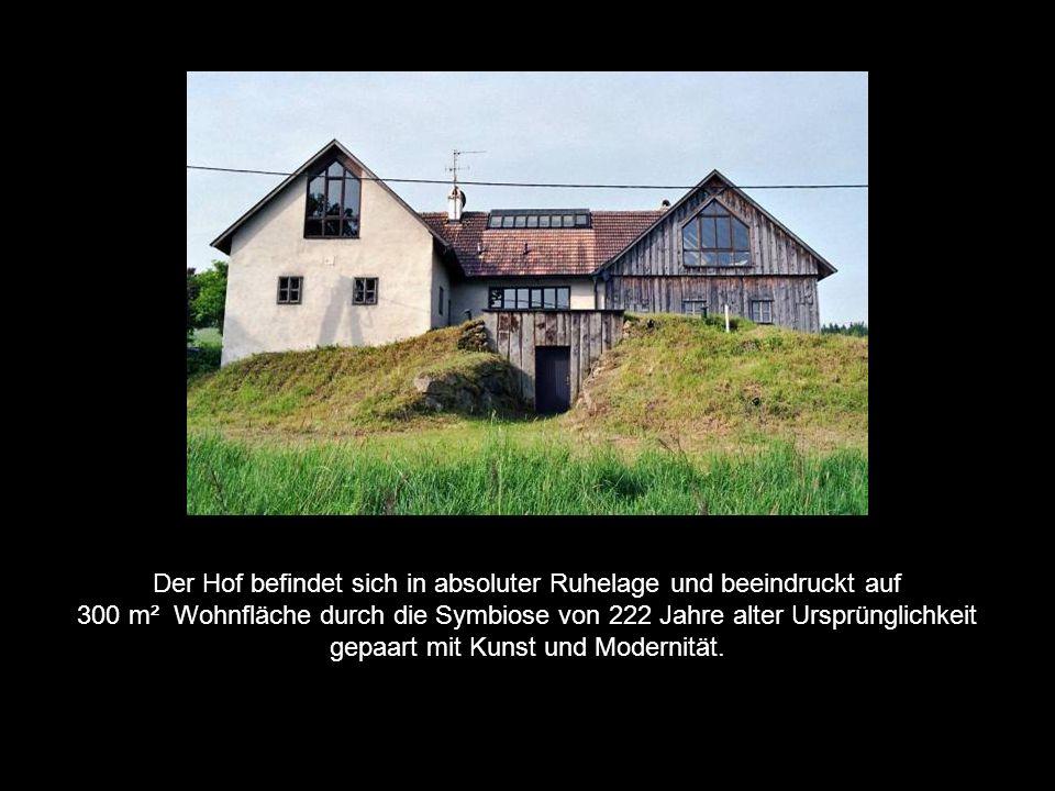 WELLNESSHOF WINTERGARTEN MUSIKZIMMER Morgensonne ATELIER Bad Küche Christo – Zimmer WEINKELLER Saunakeller