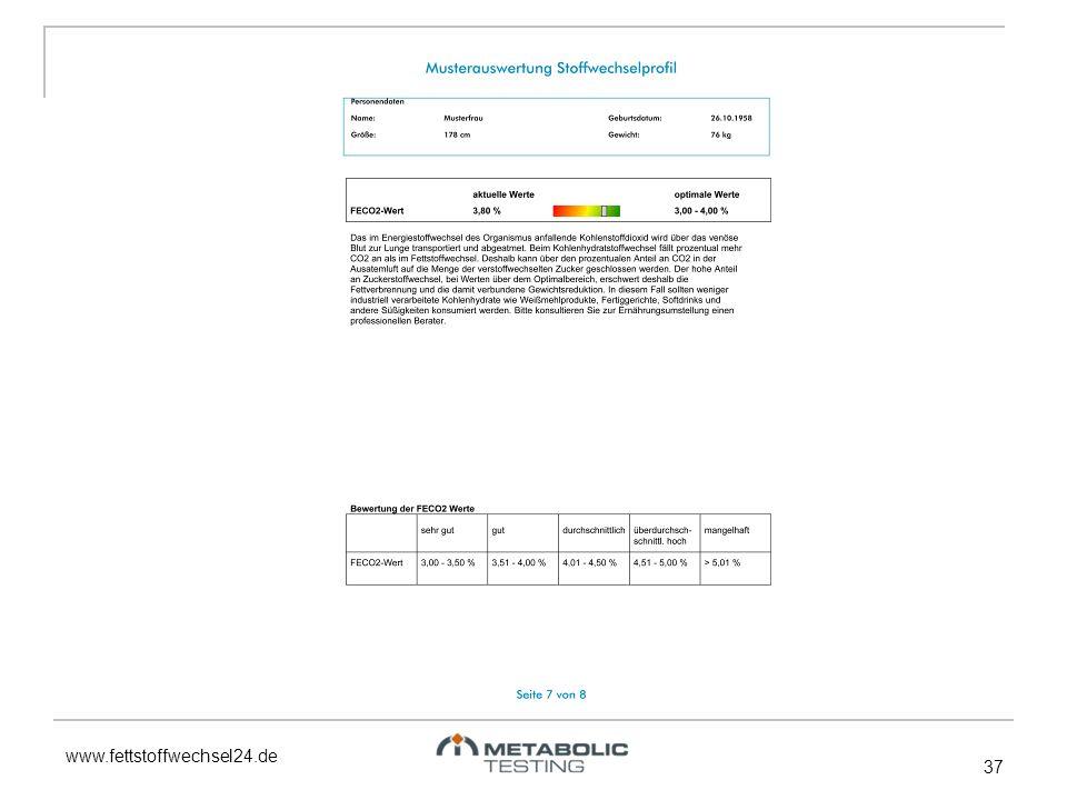 www.fettstoffwechsel24.de 37