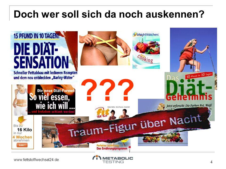 www.fettstoffwechsel24.de ??? 4 Doch wer soll sich da noch auskennen?