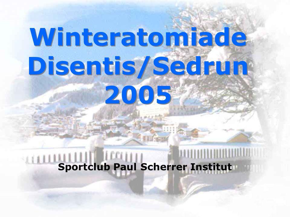 Winteratomiade Disentis/Sedrun 2005 Sportclub Paul Scherrer Institut