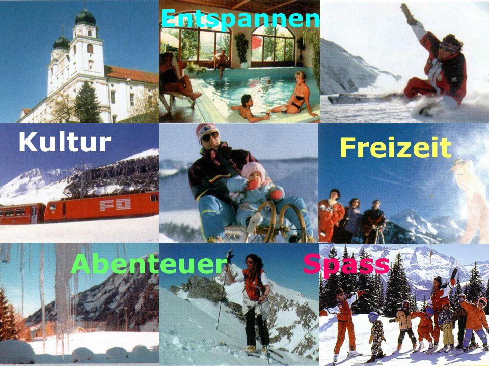 Freizeit Spass Kultur Entspannen Abenteuer