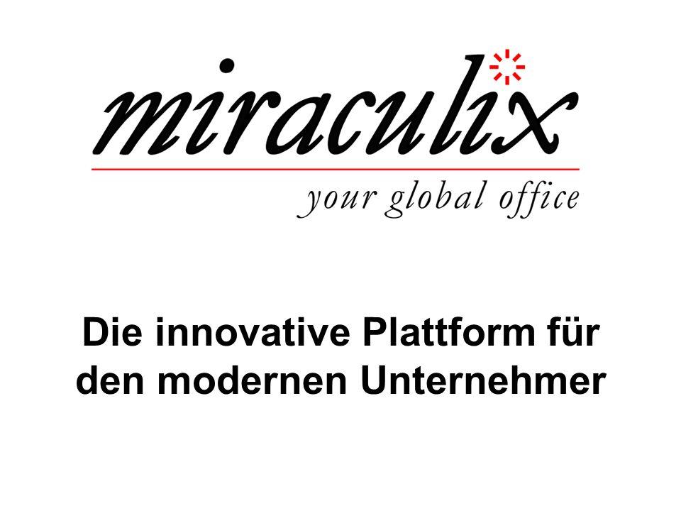 Die innovative Plattform für den modernen Unternehmer
