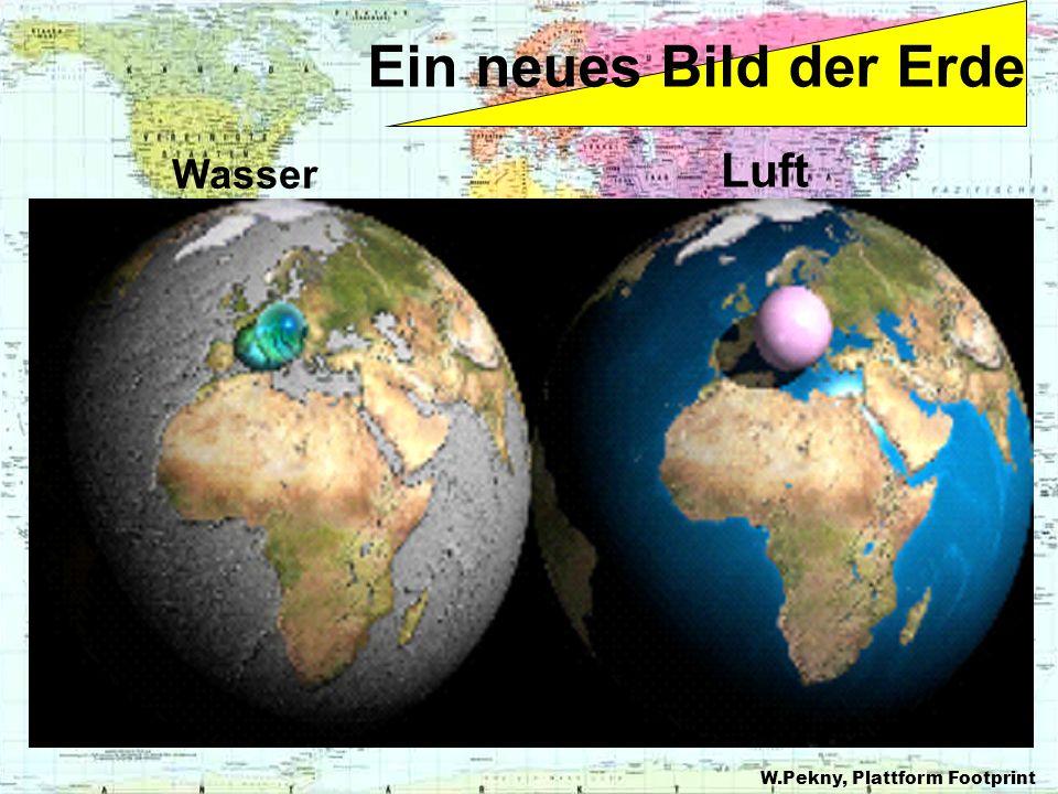 Ein neues Bild der Erde Wasser Luft W.Pekny, Plattform Footprint