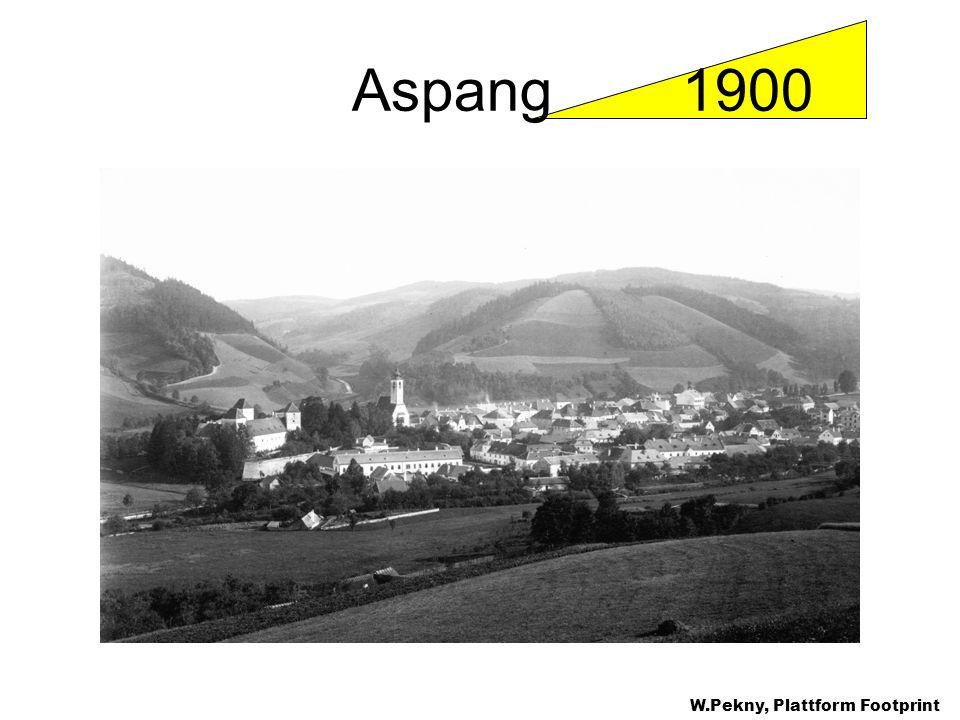 Aspang 1900 W.Pekny, Plattform Footprint