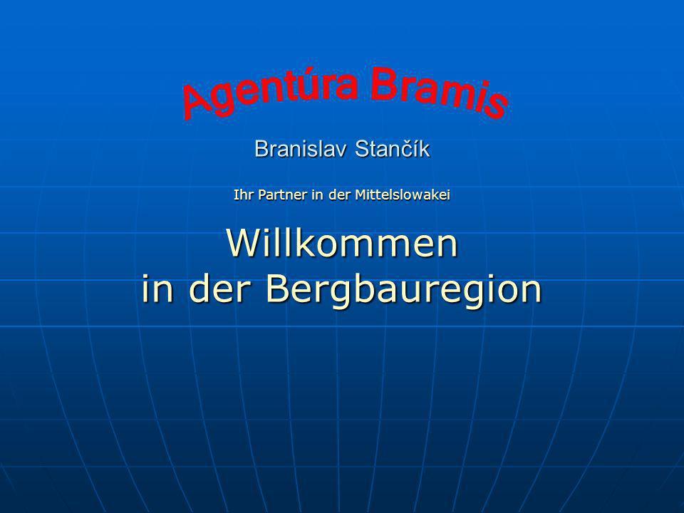 Über uns Die Agentur Agentúra BRAMIS – Branislav Stančík – setzte sich zum Ziel ihrer Tätigkeit, die sog.