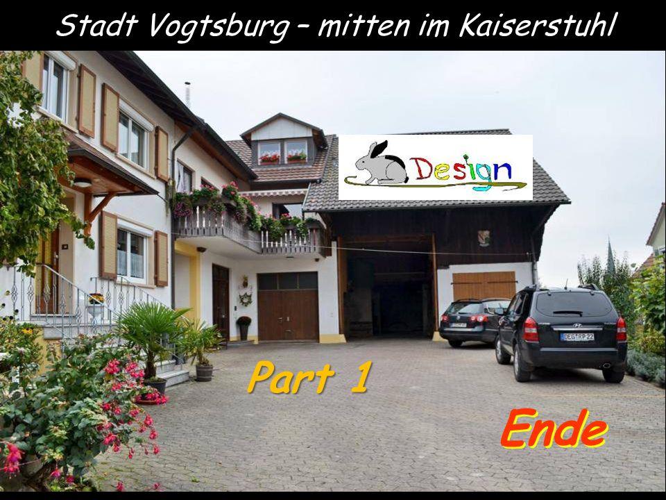 Stadt Vogtsburg – mitten im Kaiserstuhl Ende Part 1