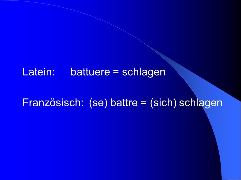 B.Für wen ist Französisch besonders geeignet .