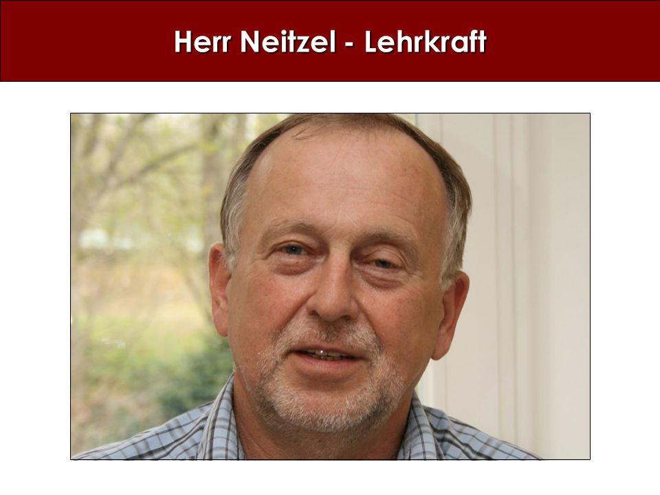Herr Neitzel - Lehrkraft