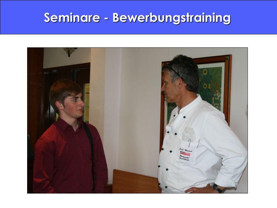 Seminare - Bewerbungstraining