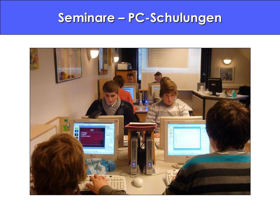 Seminare – PC-Schulungen