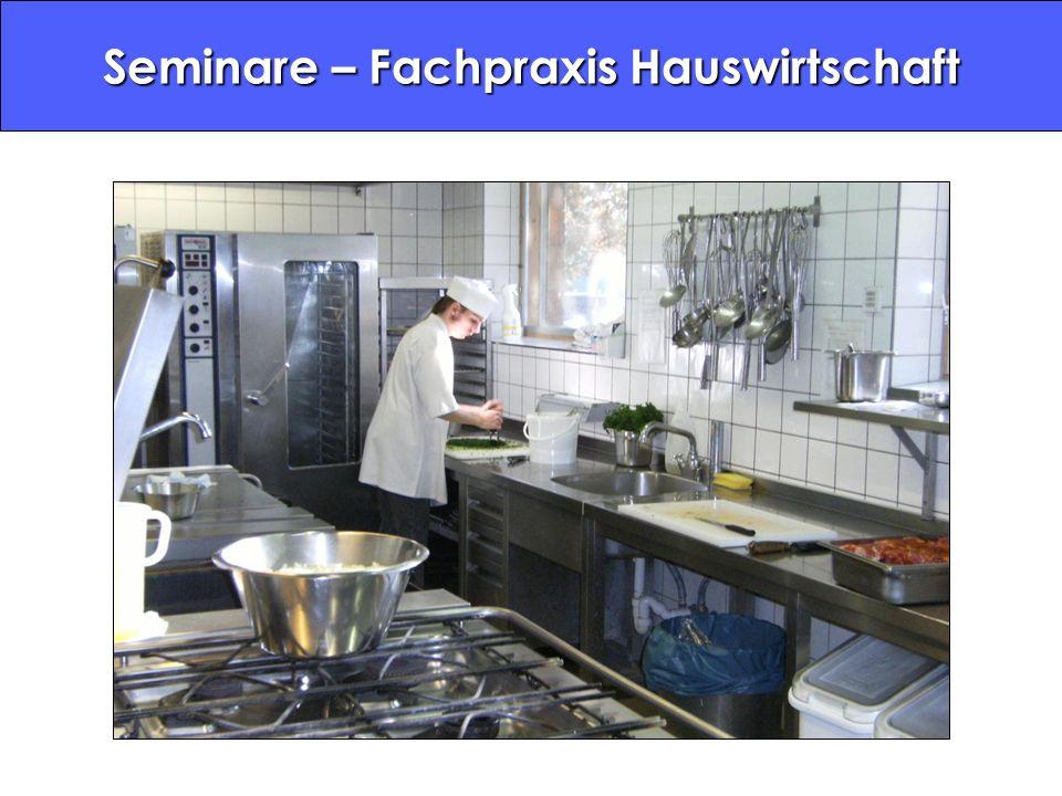 Seminare – Fachpraxis Hauswirtschaft