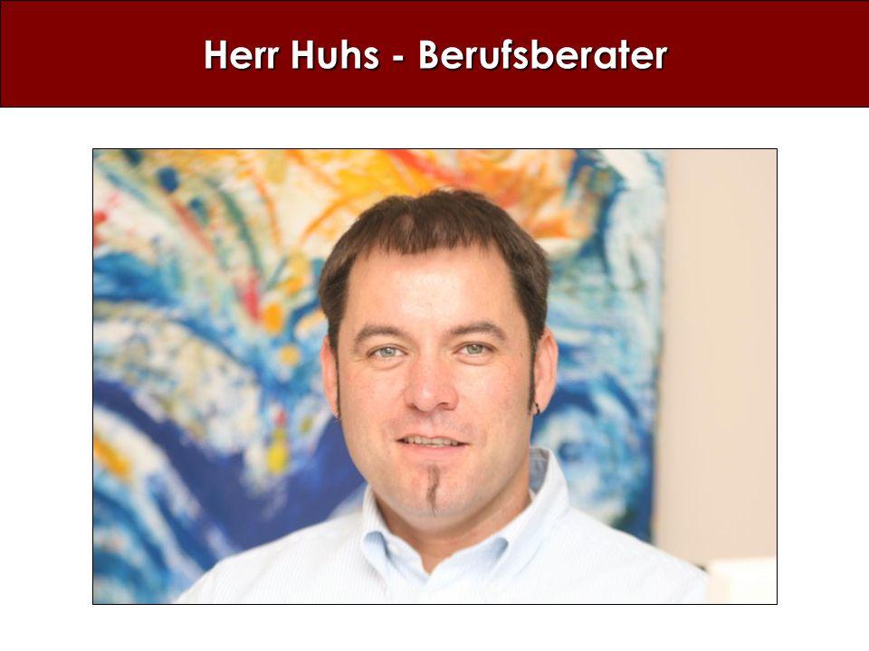 Herr Huhs - Berufsberater
