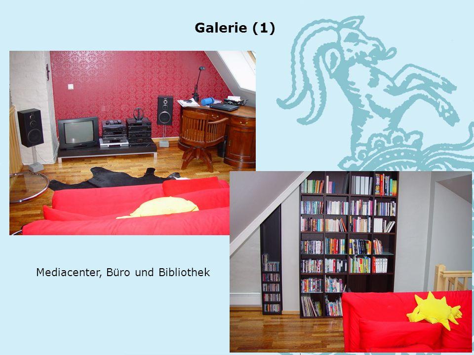 Mediacenter, Büro und Bibliothek Galerie (1)