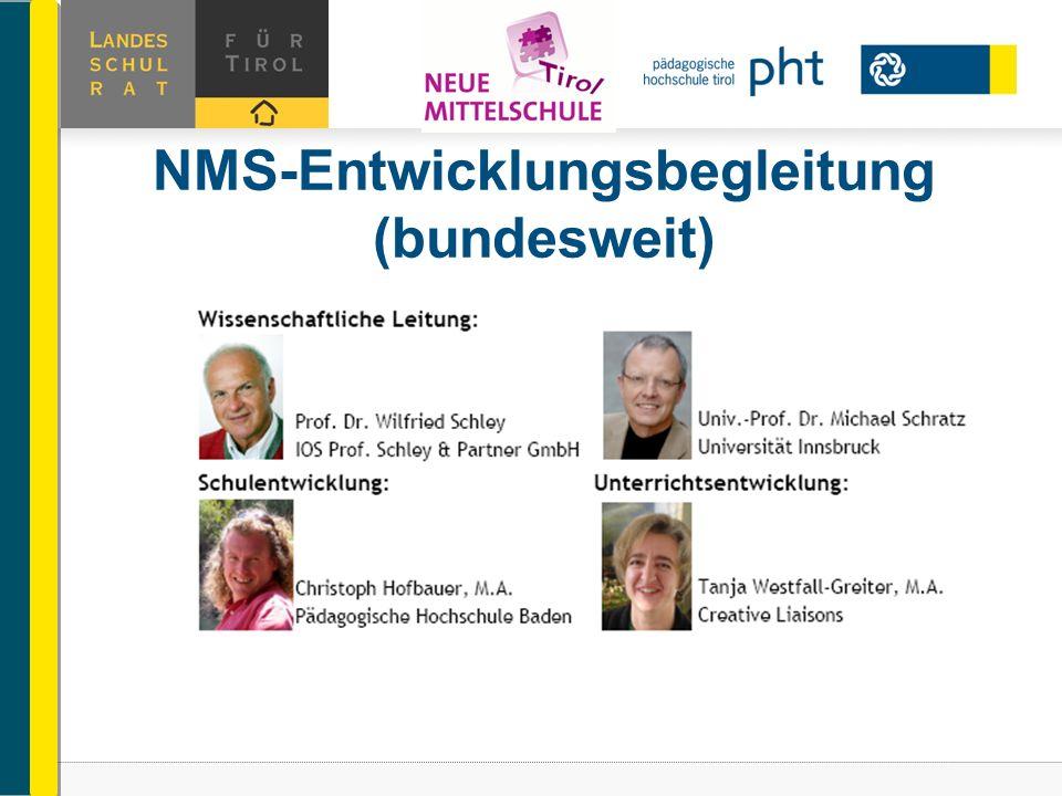 NMS-Entwicklungsbegleitung (bundesweit)