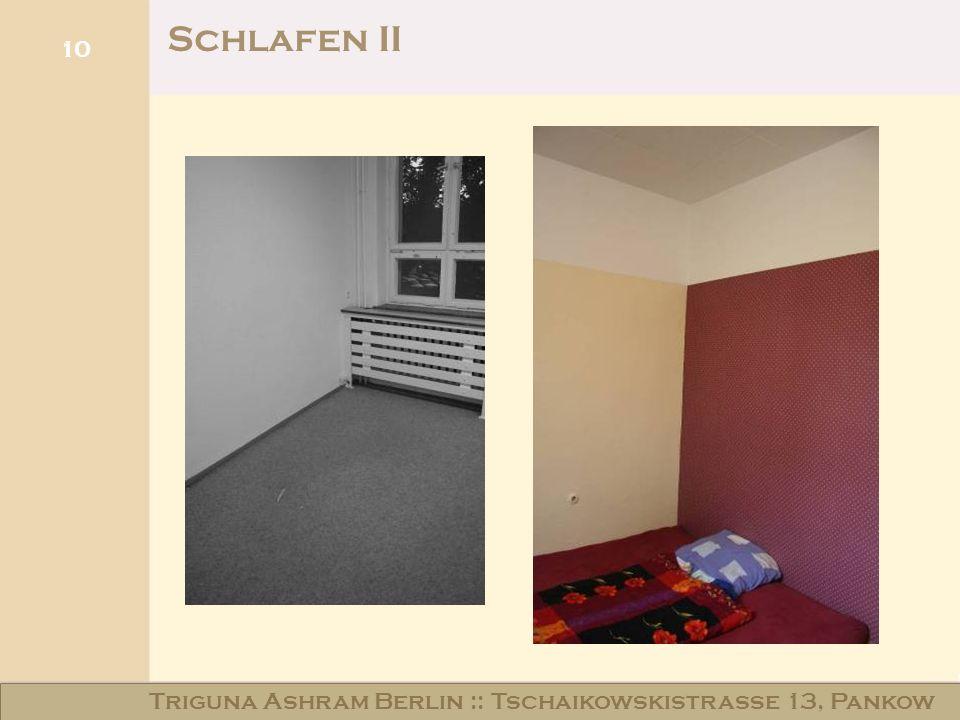 Haus am Schloss Niederschönhausen 10 Schlafen II Triguna Ashram Berlin :: Tschaikowskistraße 13, Pankow