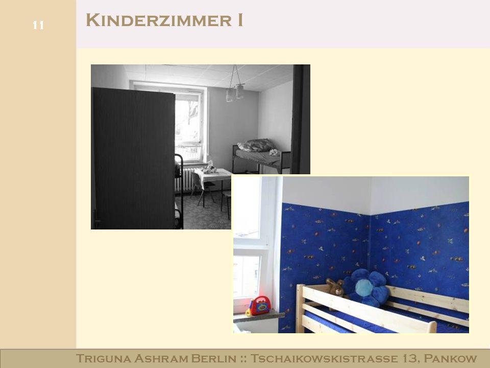 Haus am Schloss Niederschönhausen 11 Kinderzimmer I Triguna Ashram Berlin :: Tschaikowskistraße 13, Pankow