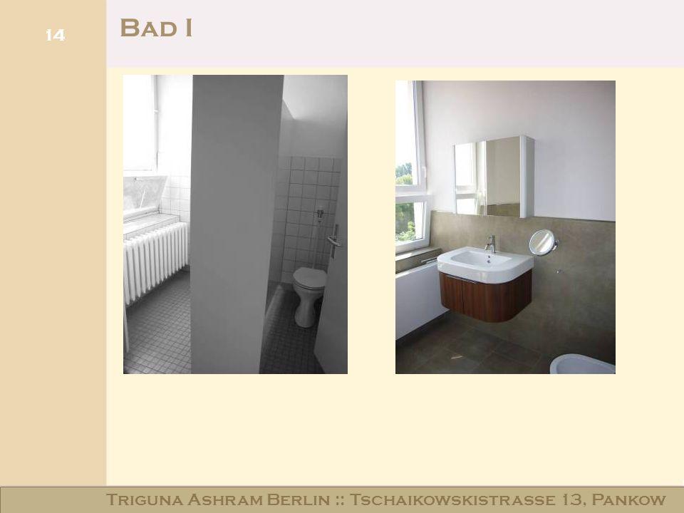 Haus am Schloss Niederschönhausen Bad I 14 Triguna Ashram Berlin :: Tschaikowskistraße 13, Pankow