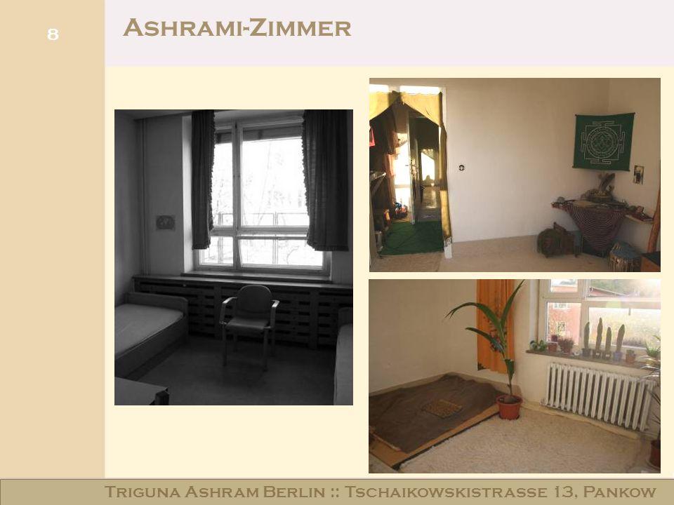 Haus am Schloss Niederschönhausen Ashrami-Zimmer 8 Triguna Ashram Berlin :: Tschaikowskistraße 13, Pankow