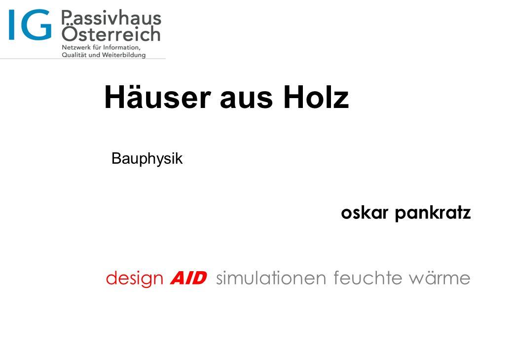design AID simulationen feuchte wärme oskar pankratz Danke für Ihre Aufmerksamkeit