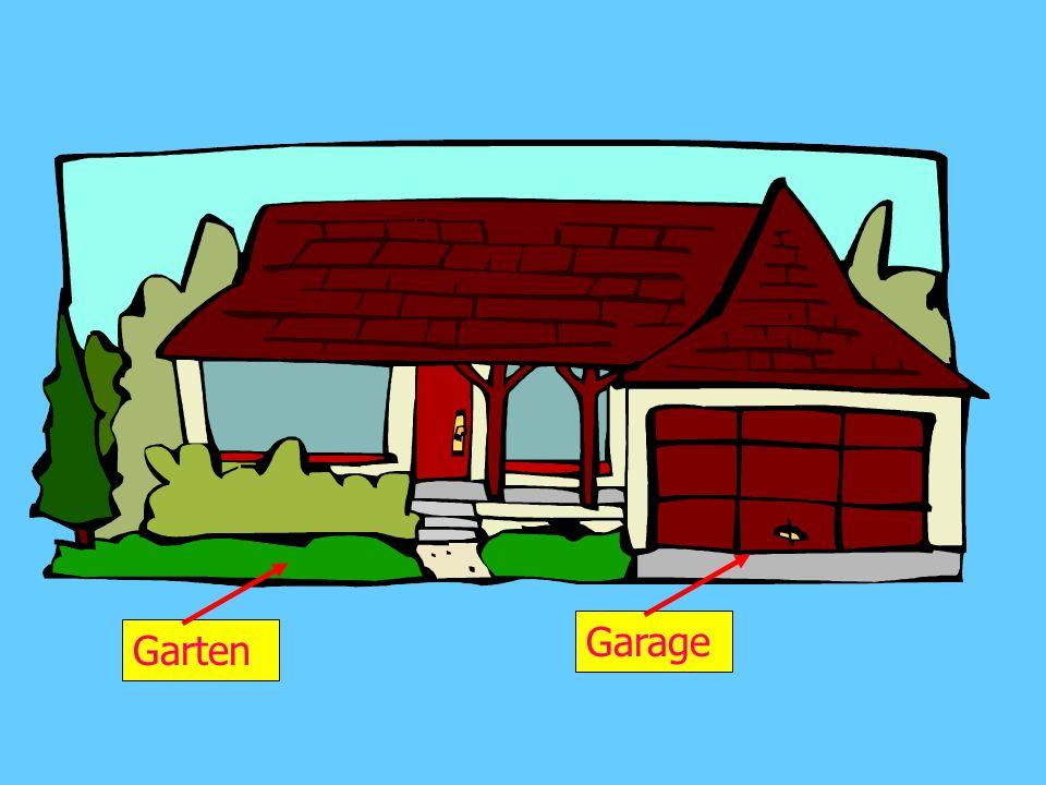 Wie viele Zimmer hat dein Haus? Mein Haus hat _____ Zimmer.