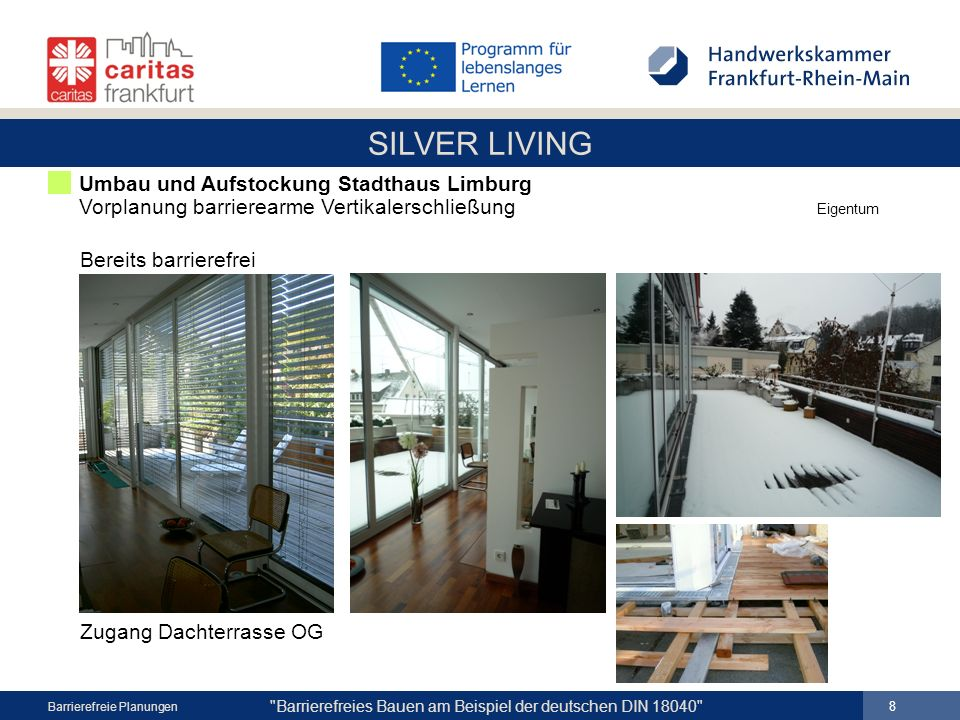 SILVER LIVING 8