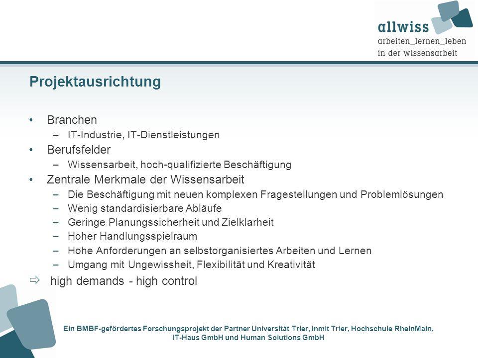 Ein BMBF-gefördertes Forschungsprojekt der Partner Universität Trier, Inmit Trier, Hochschule RheinMain, IT-Haus GmbH und Human Solutions GmbH Projekt