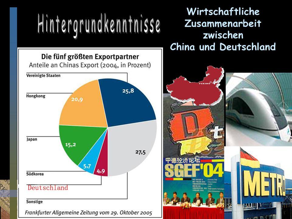 Zeitungslektüre Prof.Ding Weixiang Wirtschaftliche Zusammenarbeit zwischen China und Deutschland