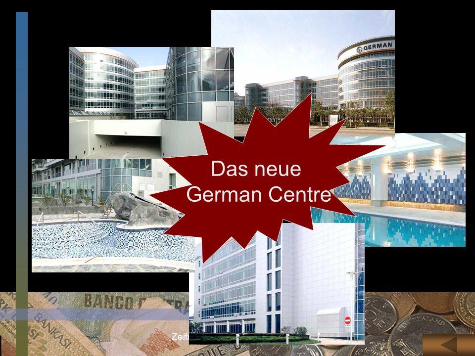 Zeitungslektüre Prof.Ding Weixiang Das neue German Centre