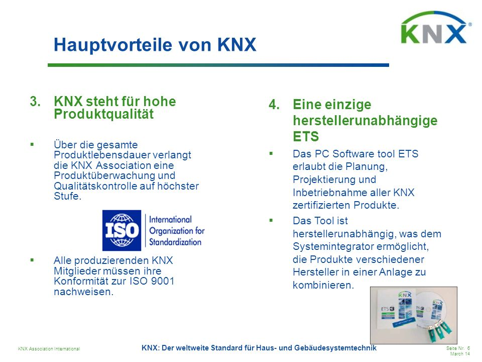 KNX Association International Seite Nr.