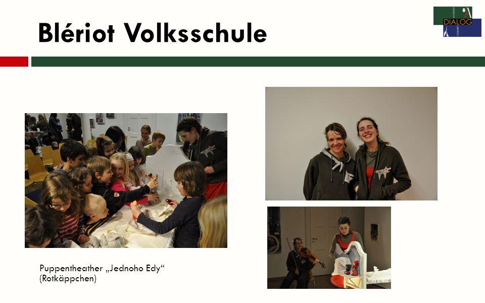 Blériot Volksschule Puppentheather Jednoho Edy (Rotkäppchen)