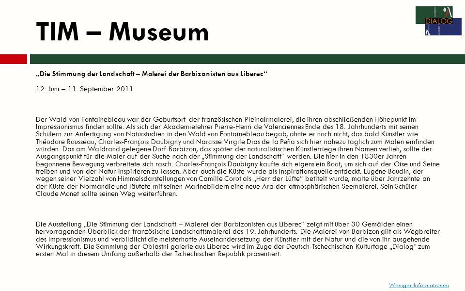 TIM – Museum Die Stimmung der Landschaft – Malerei der Barbizonisten aus Liberec 12.