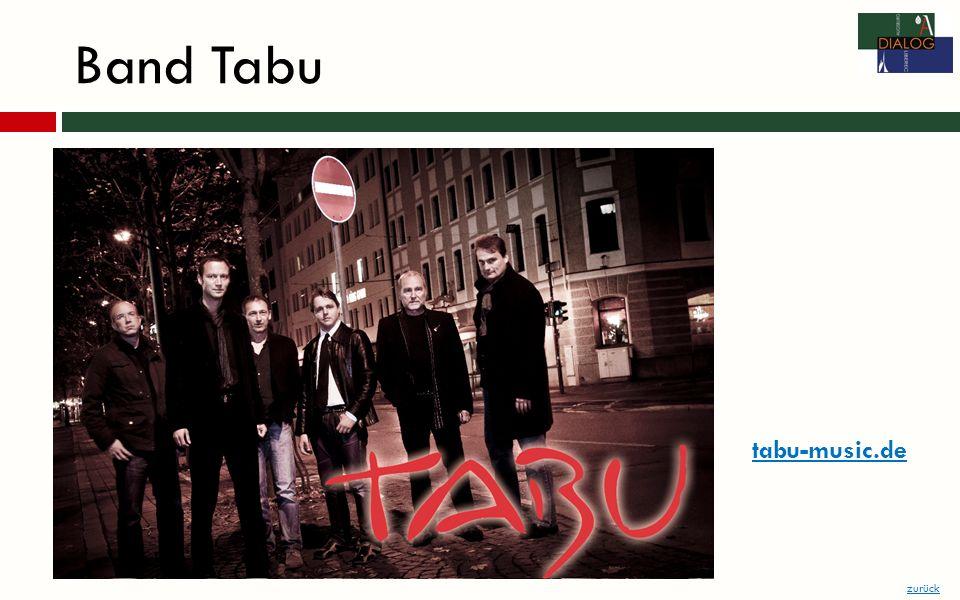 Band Tabu zurück tabu-music.de