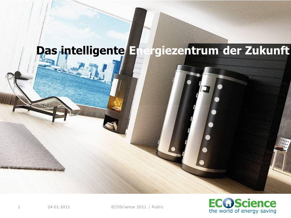 24.01.2011ECOScience 2011 / Public1 Das intelligente Energiezentrum der Zukunft