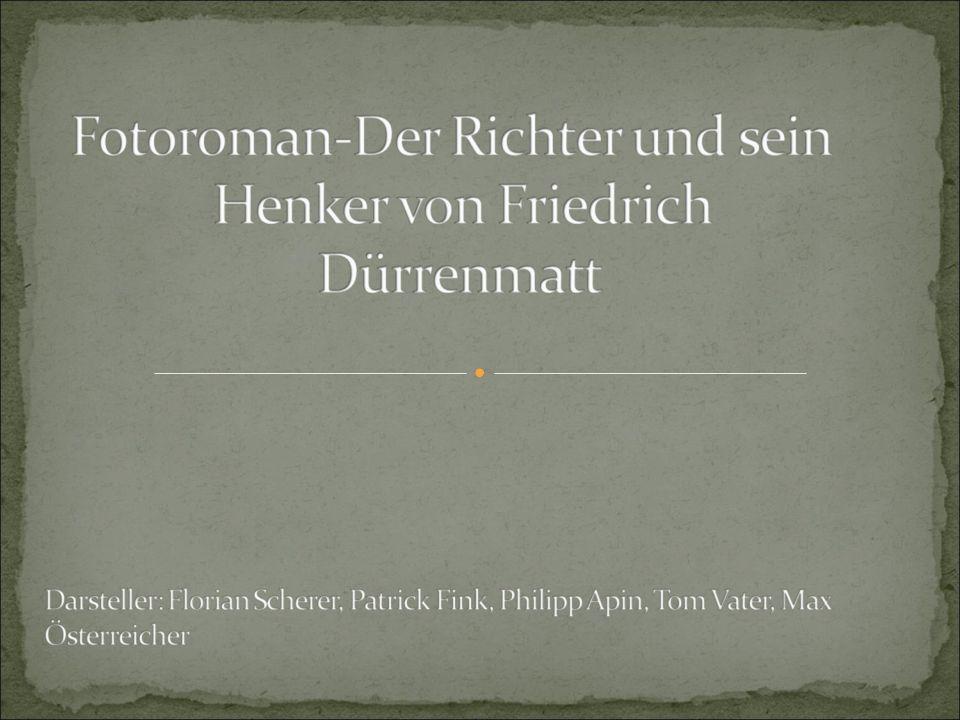 Darsteller: Patrick Fink als Tschanz Max Österreicher als Gastmann Philipp Apin als Lutz, 2.