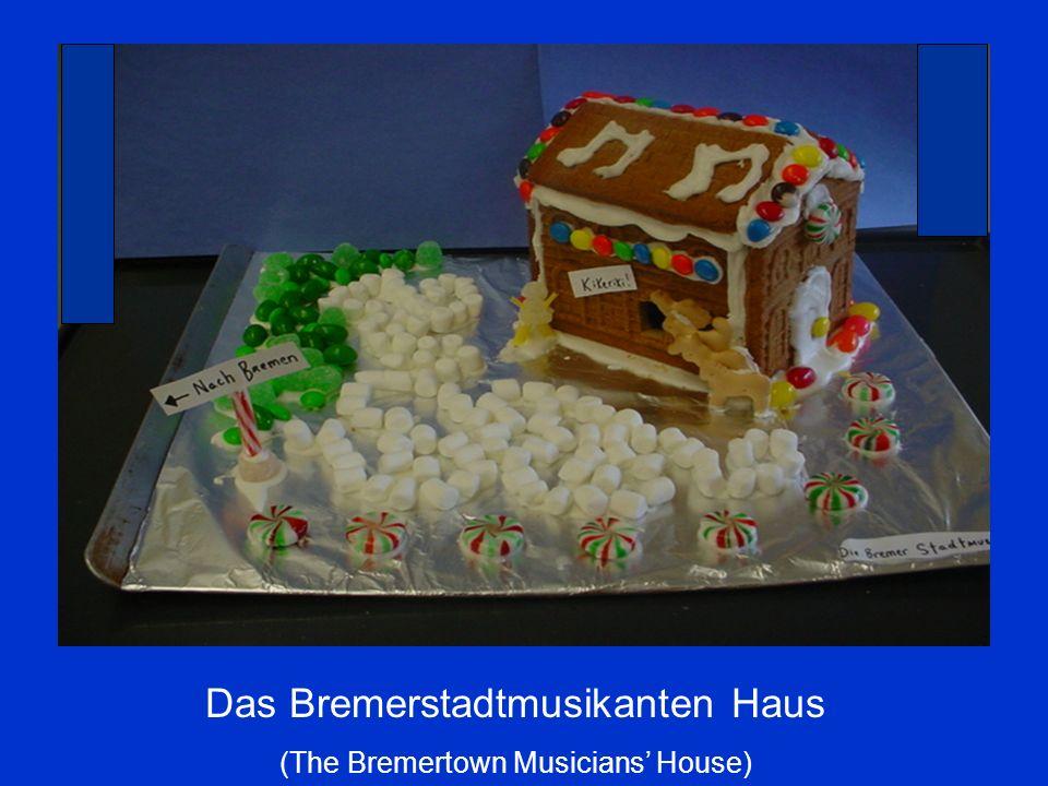 Das Bremerstadtmusikanten Haus (The Bremertown Musicians House)