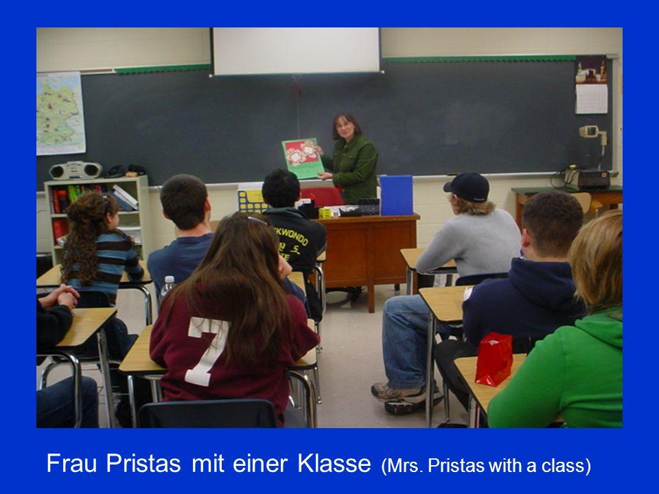 Frau Pristas mit einer Klasse (Mrs. Pristas with a class)