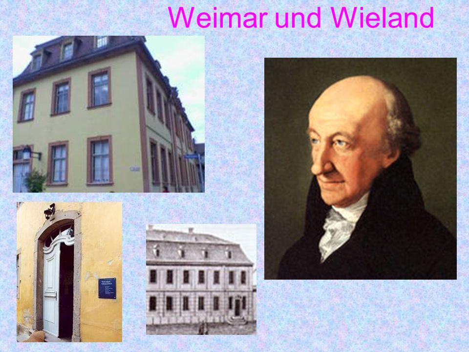 Weimar und Wieland